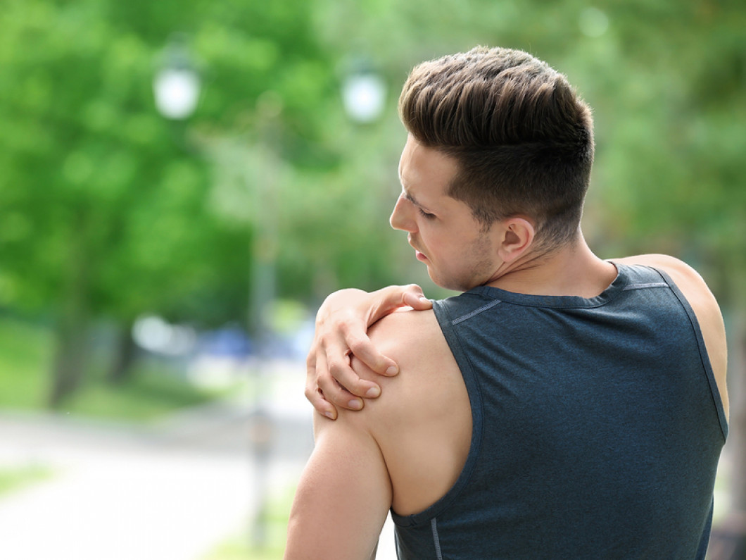What does shoulder pain treatment involve?